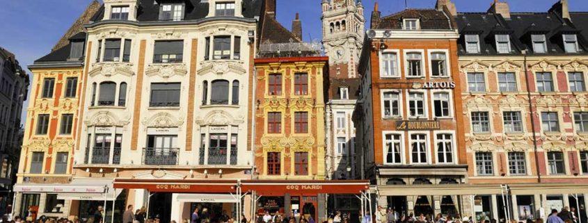 El centro histórico de Lille