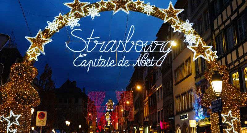 El mercado navideno en Estrasburgo una institución