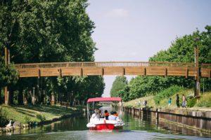 Itinerario Parque Bergère, puente