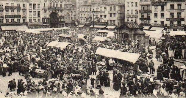 La Feria de Lille antes