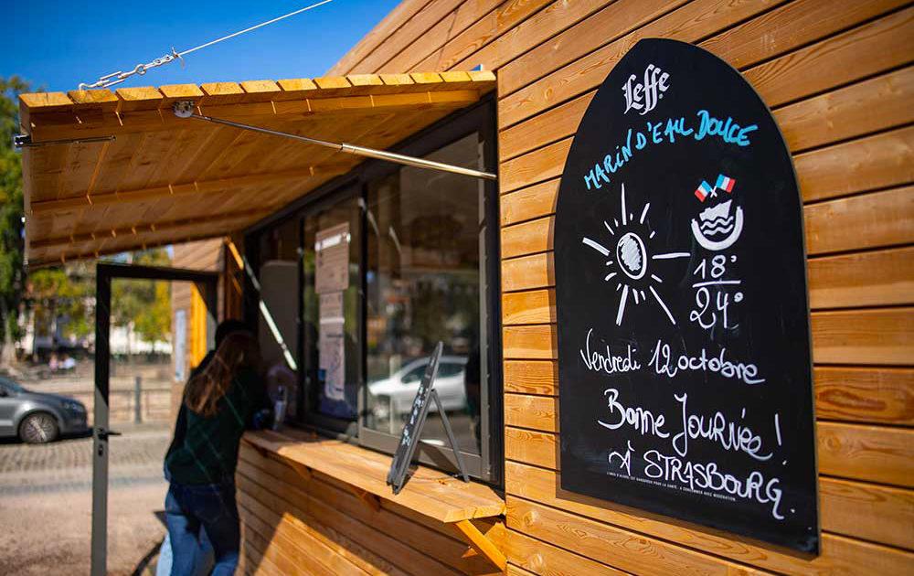 La Guinguette del Capitan en Estraburgo cafe bar y merienda