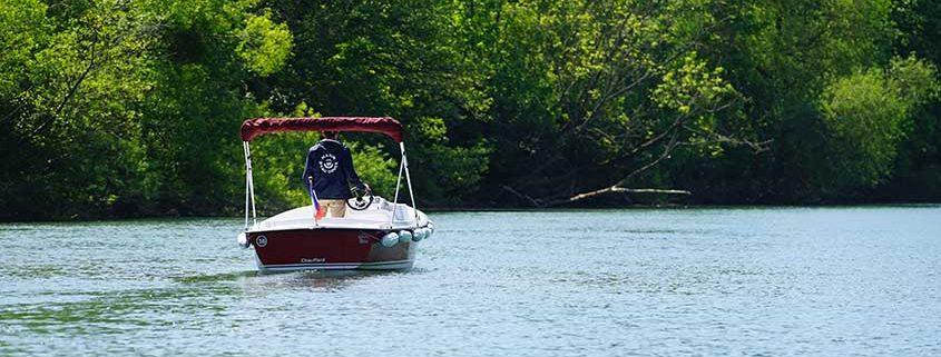 La ruta le permitir á navegar por todo el Parque Natural de Pâtis