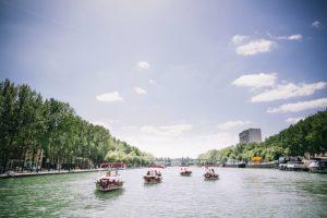Navegación en la cuenca del Villette