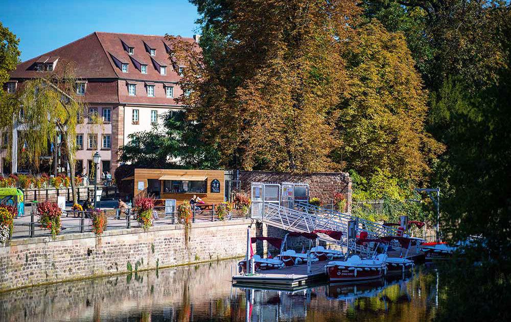 Nuestra base náutica de Estrasburgo