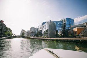 Recorridos insólito en barco eléctrico