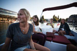 Rentar un barco para una despedida de soltera