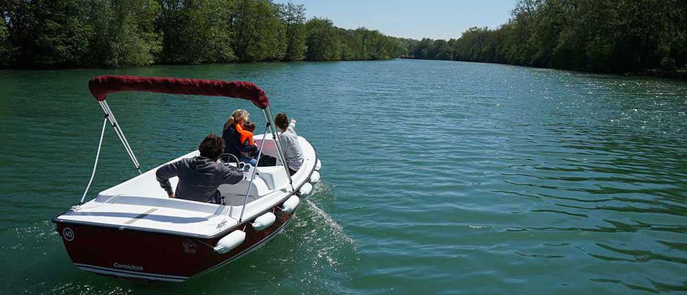 Ruta 1H a Meaux: déjese llevar por más de 20 km navegables a lo largo de las orillas del Marne